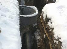 Перекладка канализационного коллектора в г. Чугуев по ул. Кожедуба